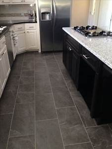 25 best ideas about dark tile floors on pinterest tile With 4 kitchen flooring ideas you are looking for