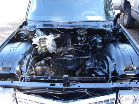 Cadillac Engine by Rebuilt Engine 1974 Cadillac Fleetwood Superior Hearse For