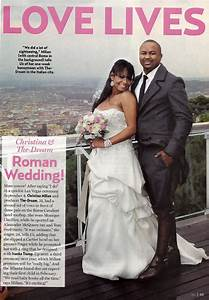 The-Dream & Christina Milian's Wedding Pic | Rap Radar