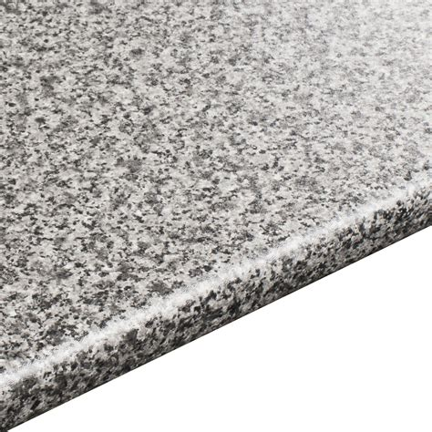 mm inari laminate grey granite effect  edge worktop