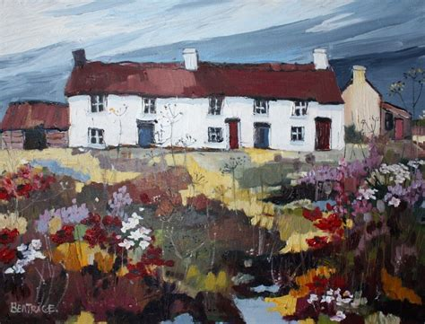 The Cottage Painting by Cottage Paintings By A Artist Beatrice Williams