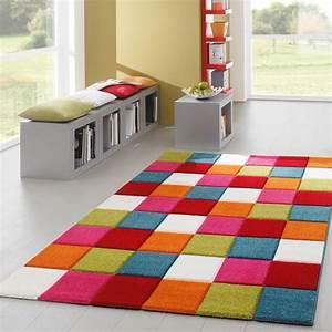 Teppich Bunt Modern : teppich bunt modern haus deko ideen ~ Frokenaadalensverden.com Haus und Dekorationen