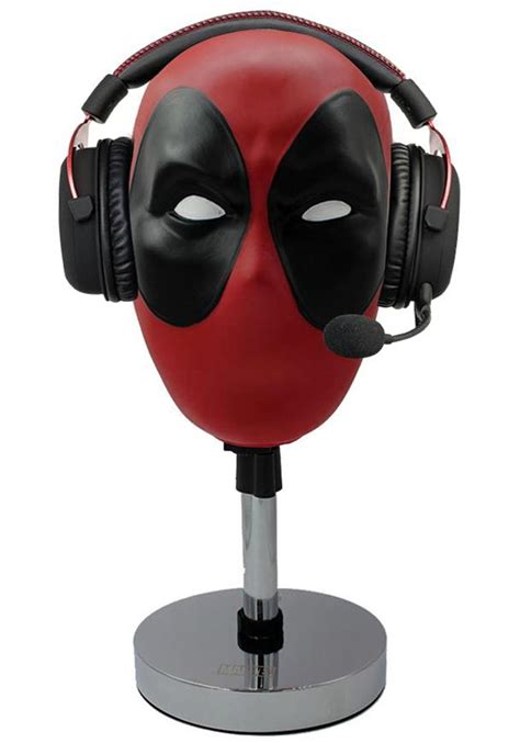 Cool Unique Headphone Vr Gaming Headset Holders And Stands For Sale by Marvel Deadpool Headset Stand