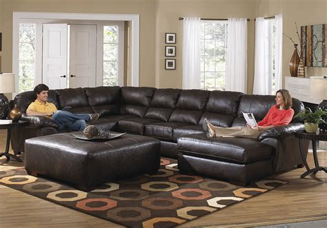 cincinnati kitchen cabinets lawson chocolate bonded leather 3pc raf chaise sectional 2207