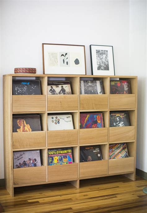 cd storage cabinet  drawers woodworking projects plans