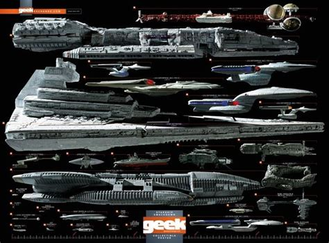 Comic-con Starship Smackdown Poster From Geek Magazine