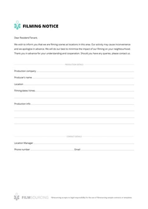 filmmaking production documents