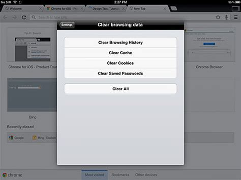 search history on iphone clear search history iphone 5