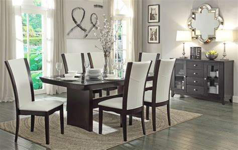 how to set a formal dining room table daisy contemporary formal dining table set