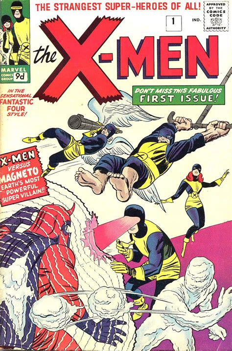 """Comically Graphic Xfacts 8 Interesting """"xmen (first"""