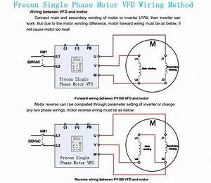 220v Vfd Single Phase Frequency Inverters Converters