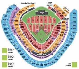 Wisconsin Concert Tickets Seating Chart Miller Park