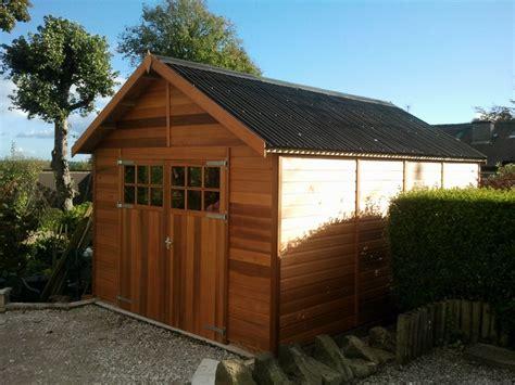 Wooden Garages UK, Timber Garages For Sale - Tunstall ...