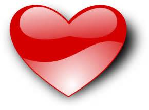 Free Public Domain Heart Clip Art