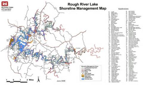 Rough River Lake KY Map