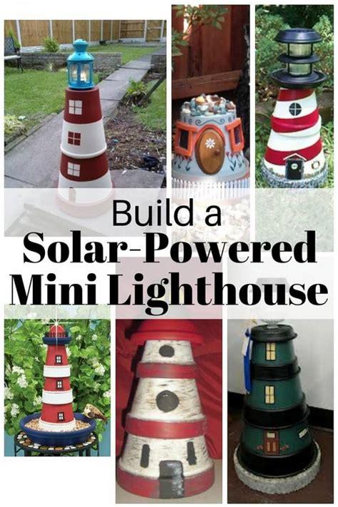 build  solar powered mini lighthouse  budget diet