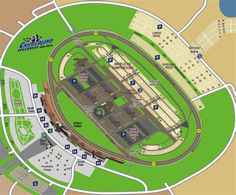 jason pearlman illustration nascar chicagoland speedway map