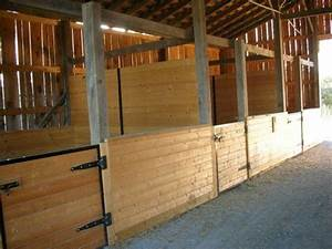 710 best images about stables horse housing on pinterest With best wood for horse stalls