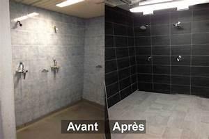 Salle De Bain Avant Après : peinture faience salle de bain prix fra che beau peindre ~ Mglfilm.com Idées de Décoration
