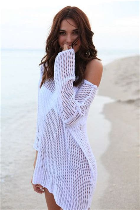 Crochet Bikini Cover Up Bikini Luxe Cover Up Beach