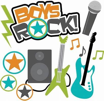 Clipart Boys Boy Rock Teen Svg Scrapbook