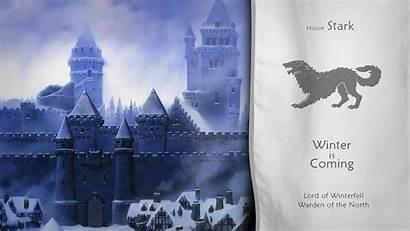 Thrones Stark Winterfell Castle Wallpapers Desktop Backgrounds