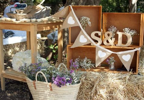 50 ideas de estilo rústico para decoración de matrimonio