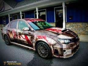Zombie Vinyl Car Wrap