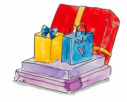 Gift Package Happydesigner Illustration Childrens Books Choose