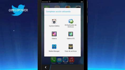 ios theme for blackberry z10 apariencia iphone launcher