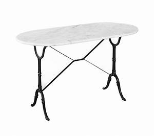 Table Marbre Ovale : table de bar marbre ~ Teatrodelosmanantiales.com Idées de Décoration