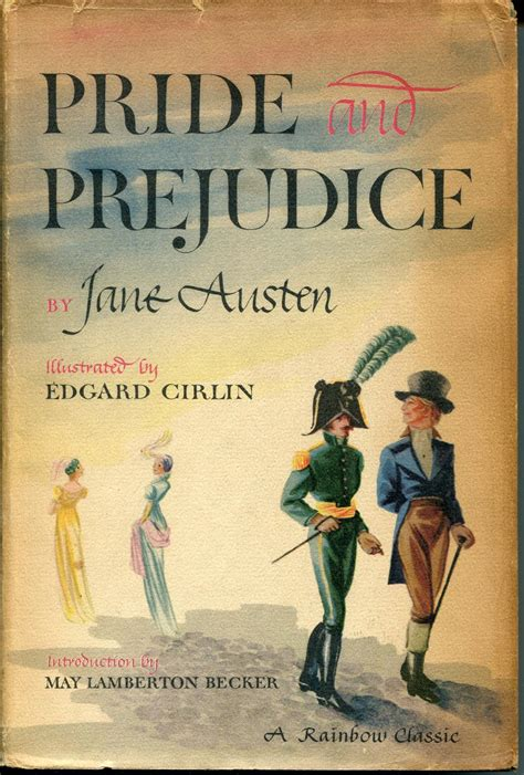Pride and Prejudice Original Book Cover