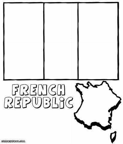 French Flag Coloring Pages Colorings