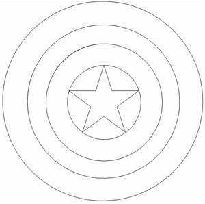 Captain America Logo Coloring Page | Coloring Pages ...