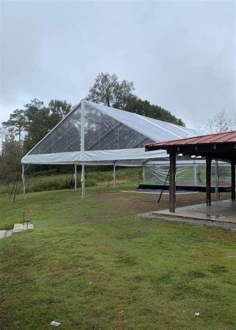 Clear Top Gable-End Tent - Atlanta Party Rentals