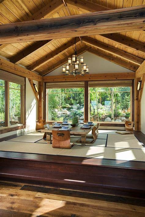japanese style dining room zen inspired interior design