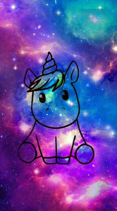 cute galaxy unicorn einhorn hintergrund einhorn tapete
