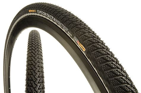 Continental Top Contact Winter Ii 700c Tire At Biketiresdirect