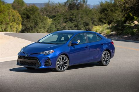 2017 Toyota Corolla By The Numbers