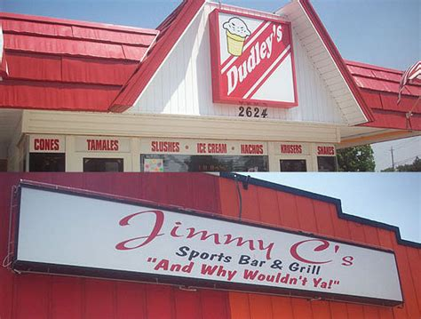 Peoria Hot Dog Wars: Dudley's ice Cream Versus The Hofbrau House (Featuring Jimmy C's Sports Bar ...