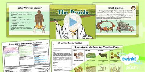 The Celtic Druids Lesson Plan 6