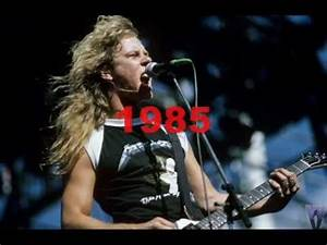 James Hetfield Voice Change, 1983-2010, Seek and Destroy ...
