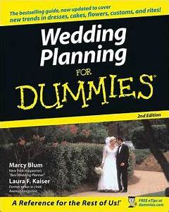 wedding planning for dummies by marcy blum 9780764556852 With wedding dresses for dummies