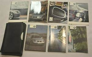 2004 Bmw 525i 530i 545i Owners Manual Guide Book Set With