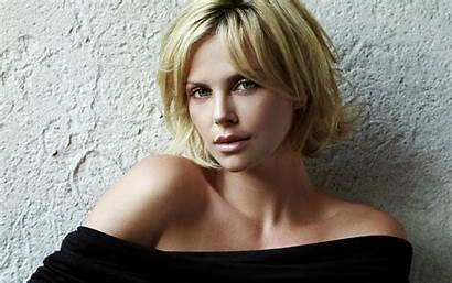 Theron Charlize Hairstyle Wallpapers Hair Hairstyles Short
