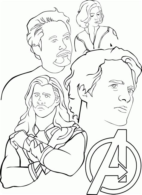 avengers coloring pages  print coloring home