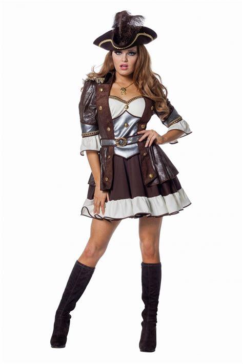 karneval kostüm damen karneval damen kost 252 m luxus piratin faschingskram