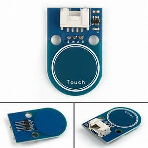 4x Touch Switch Module Double Sided Sensors Touchpad 4p  3p