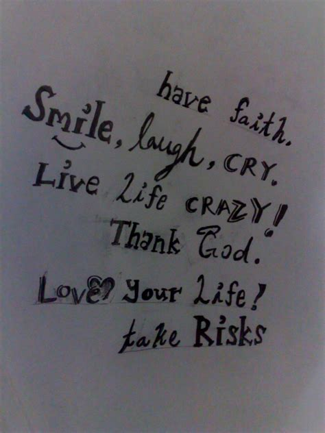 living a crazy life quotes