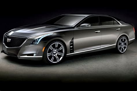 New Cadillac Ct6 First Photo And Specs Of Luxury Sedan